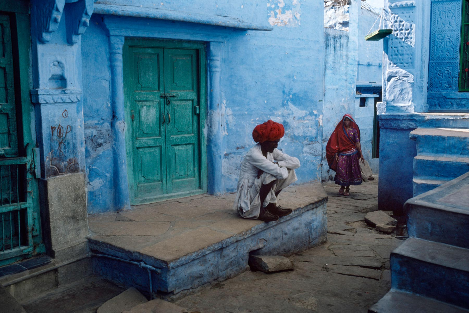 Steve Mccurry S Magical Blue City Of Jodhpur Myindianstay